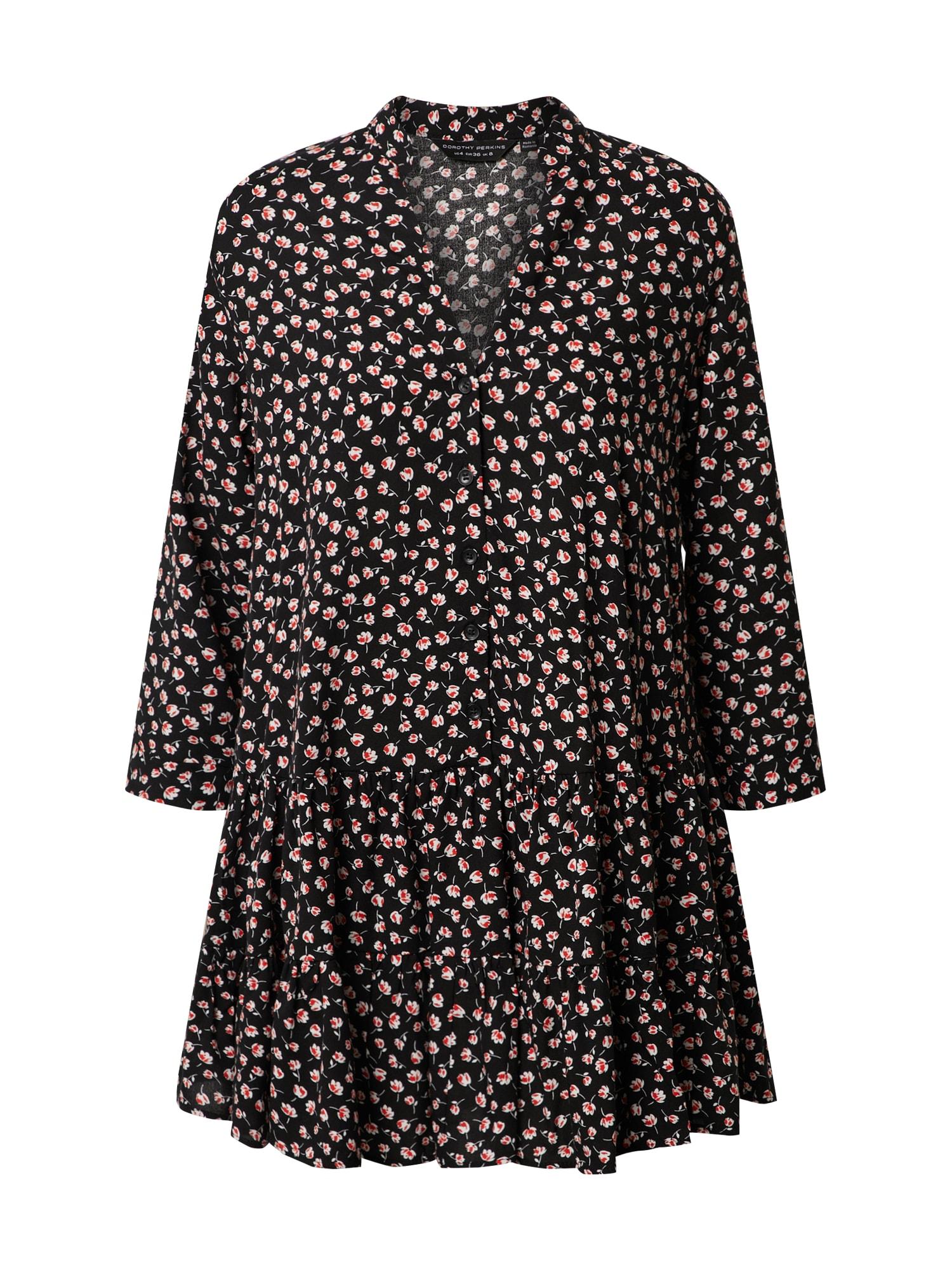 Dorothy Perkins Tunika 'TULIP' juoda / mišrios spalvos