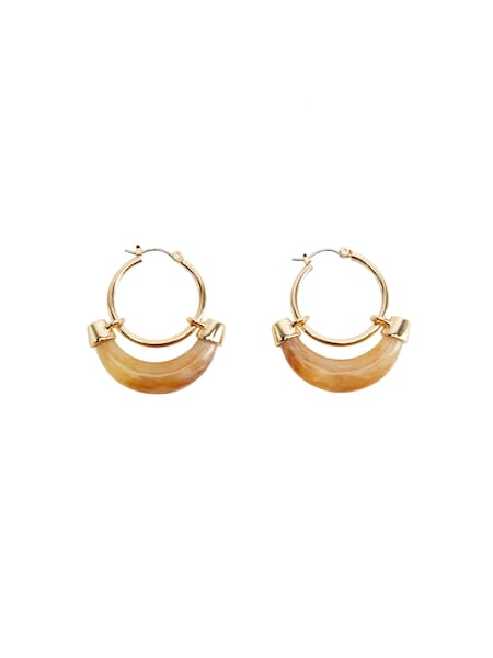 Ohrringe - Ohrringe 'ORLEANS' › Mango › gold  - Onlineshop ABOUT YOU