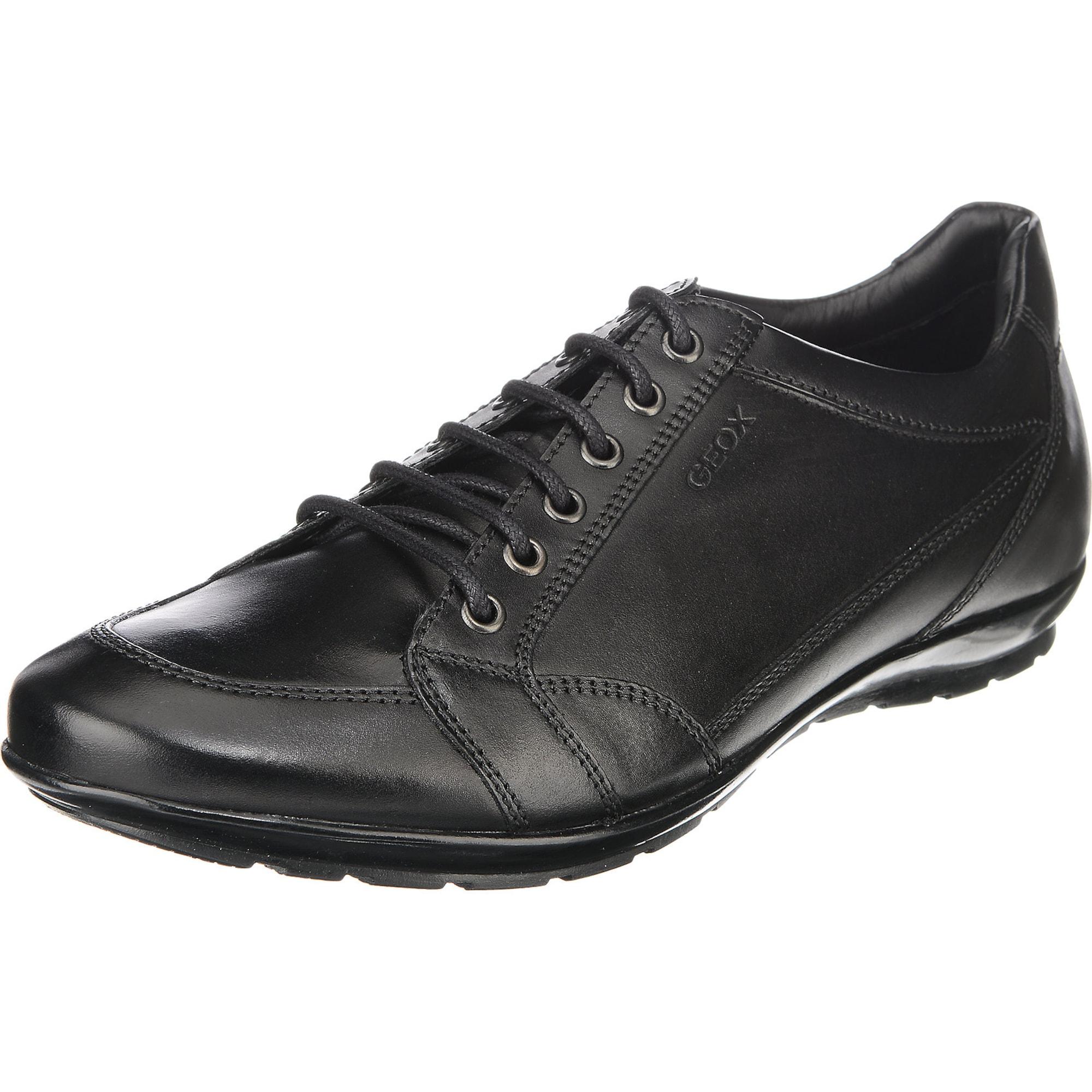 GEOX Rövid szárú edzőcipők fekete