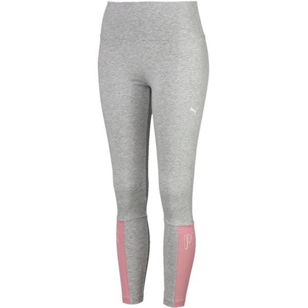 Hosen für Frauen - Leggings › Puma › grau rosa  - Onlineshop ABOUT YOU