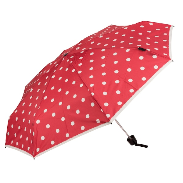 Regenschirme - Taschenschirm 'T.010 Small Manual' › knirps › rot weiß  - Onlineshop ABOUT YOU