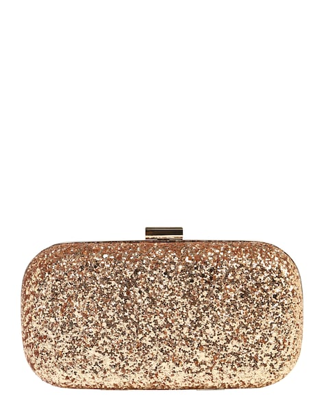 Clutches für Frauen - Mascara Clutch mit Glitter rosegold  - Onlineshop ABOUT YOU