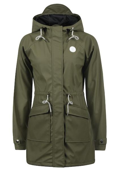 Jacken für Frauen - Desires Regenmantel 'Raja' oliv  - Onlineshop ABOUT YOU