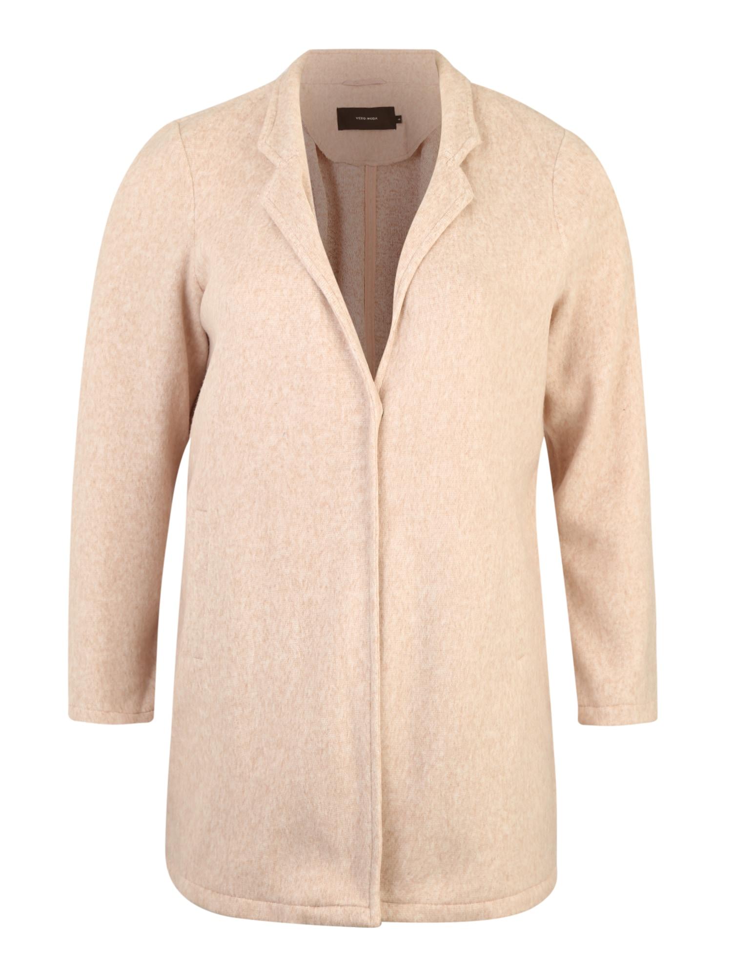 Vero Moda Curve Prechodná bunda 'KATRINE'  béžová