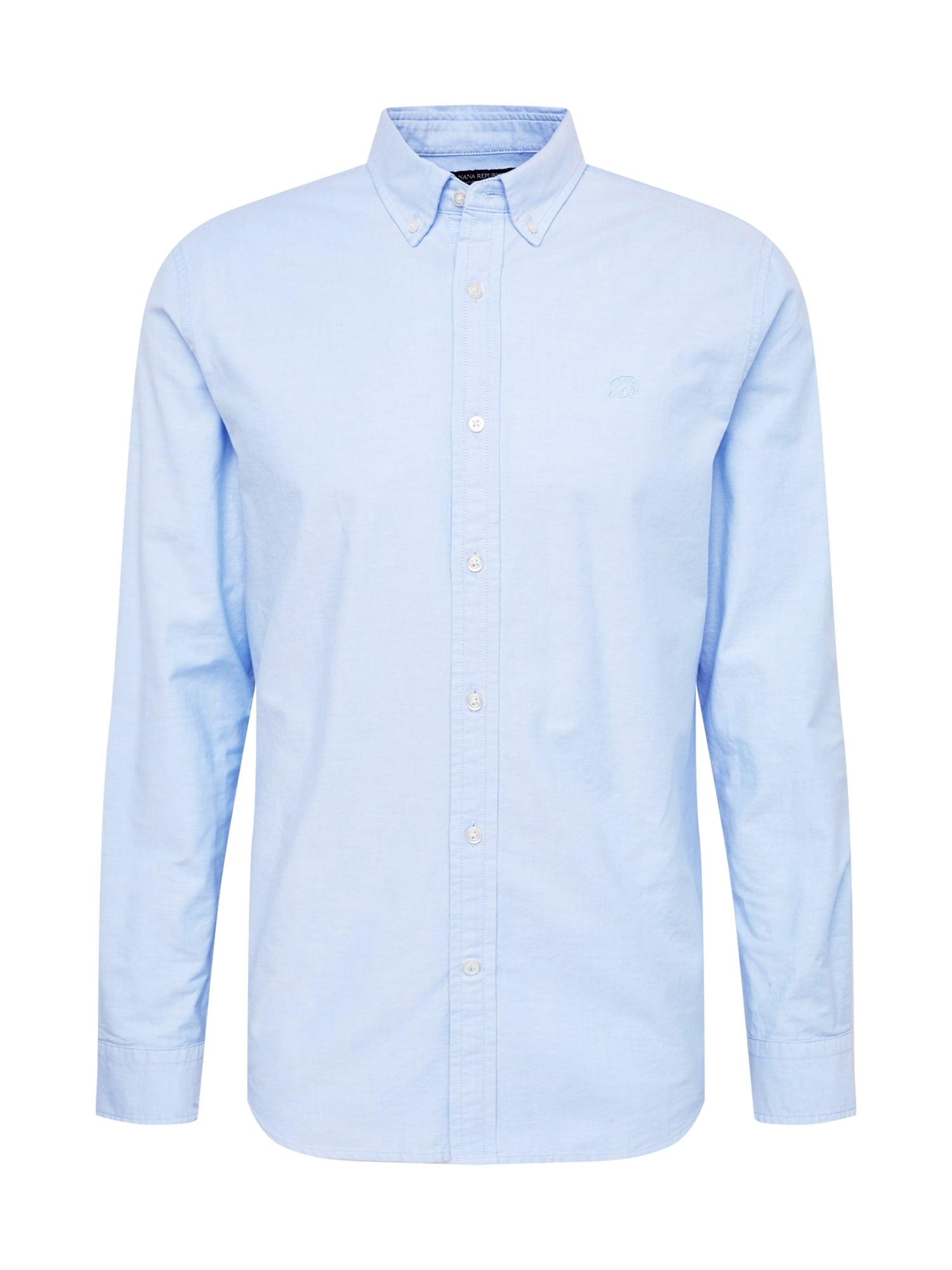 Banana Republic Dalykiniai marškiniai šviesiai mėlyna
