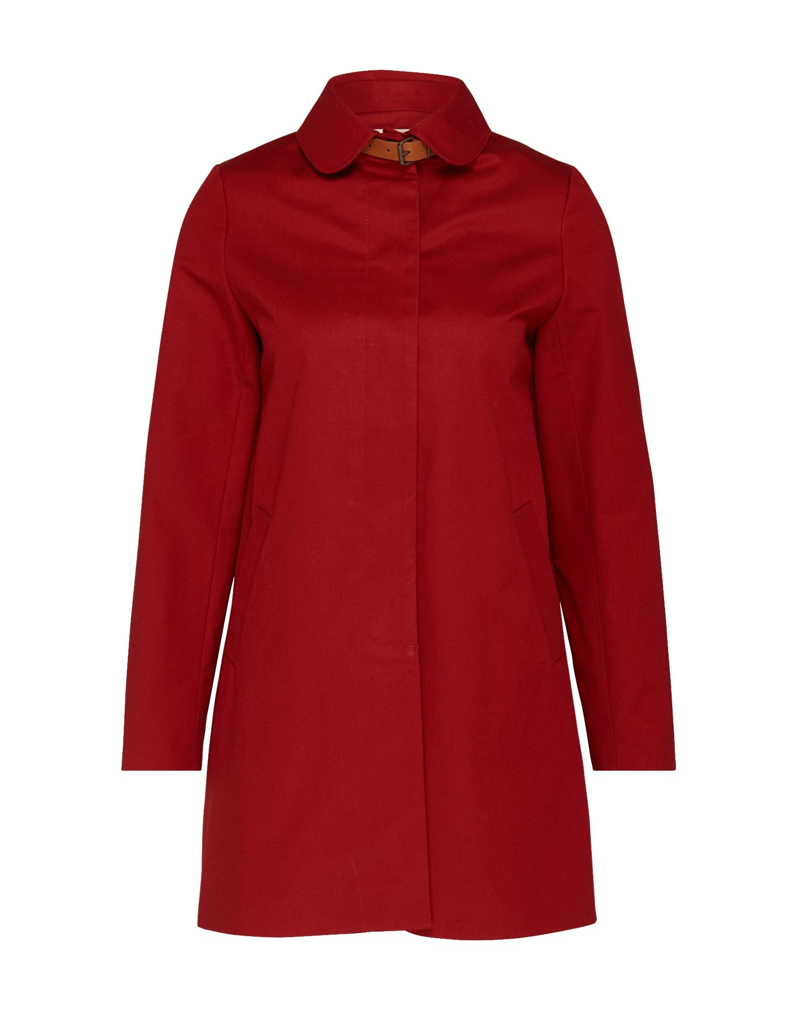 Přechodný kabát Gloria rubínově červená Sessun