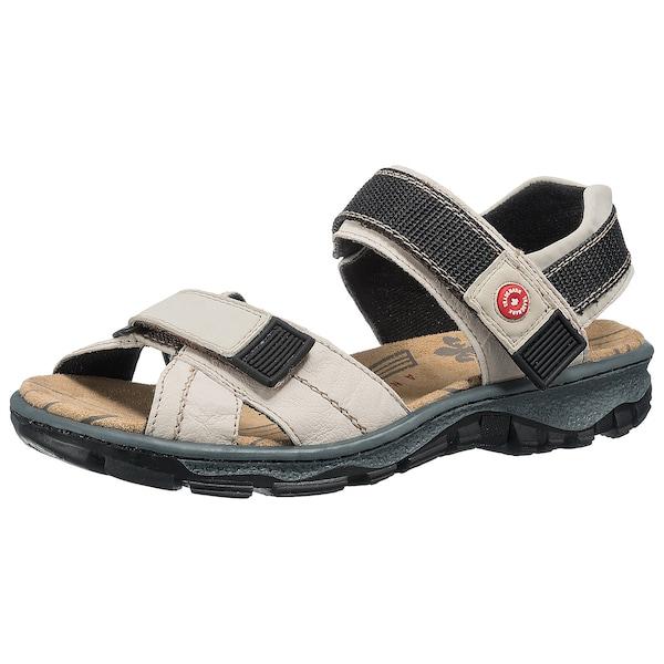 Sandalen für Frauen - RIEKER Trekkingsandale creme  - Onlineshop ABOUT YOU