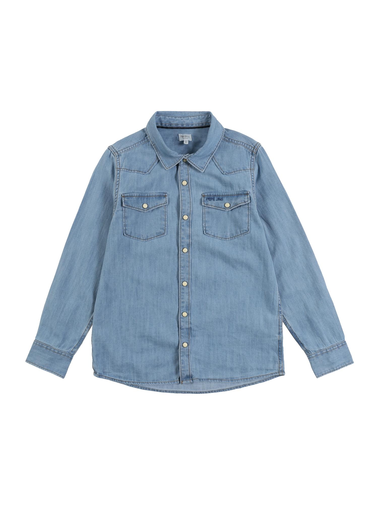 Pepe Jeans Dalykiniai marškiniai 'MICHAEL' tamsiai (džinso) mėlyna