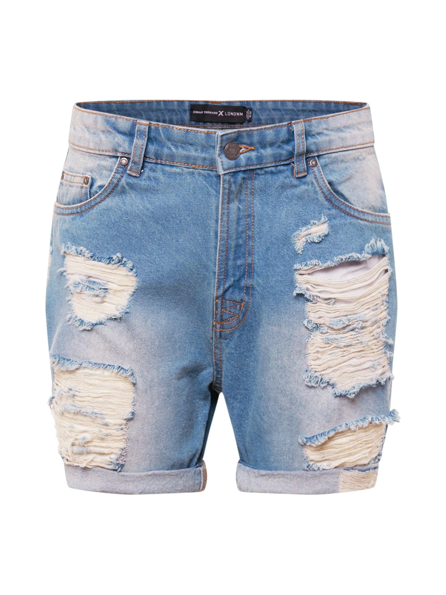Urban Threads Džinsai tamsiai (džinso) mėlyna