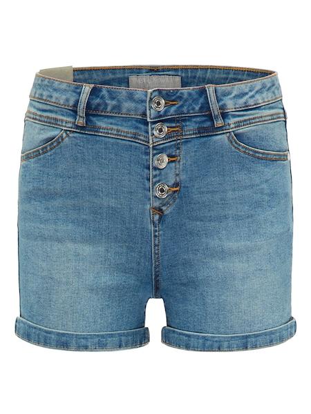 Hosen für Frauen - Shorts › BROADWAY NYC FASHION › blau blue denim  - Onlineshop ABOUT YOU