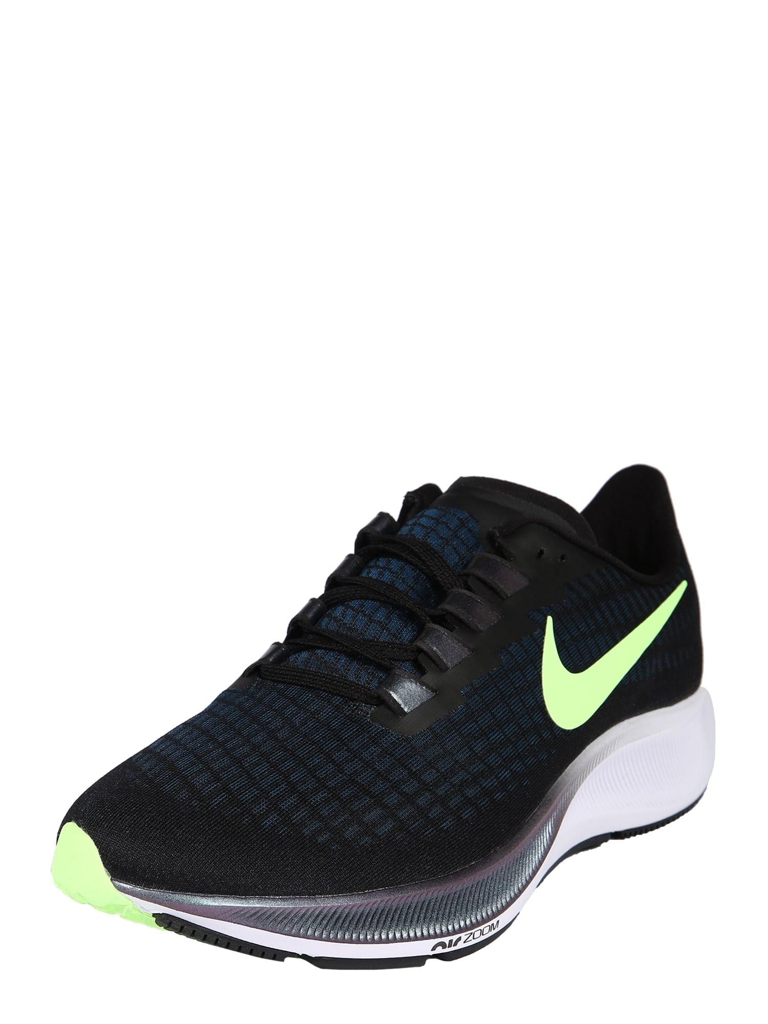 NIKE Bežecká obuv 'Nike Air Zoom Pegasus 37'  limetová / čierna