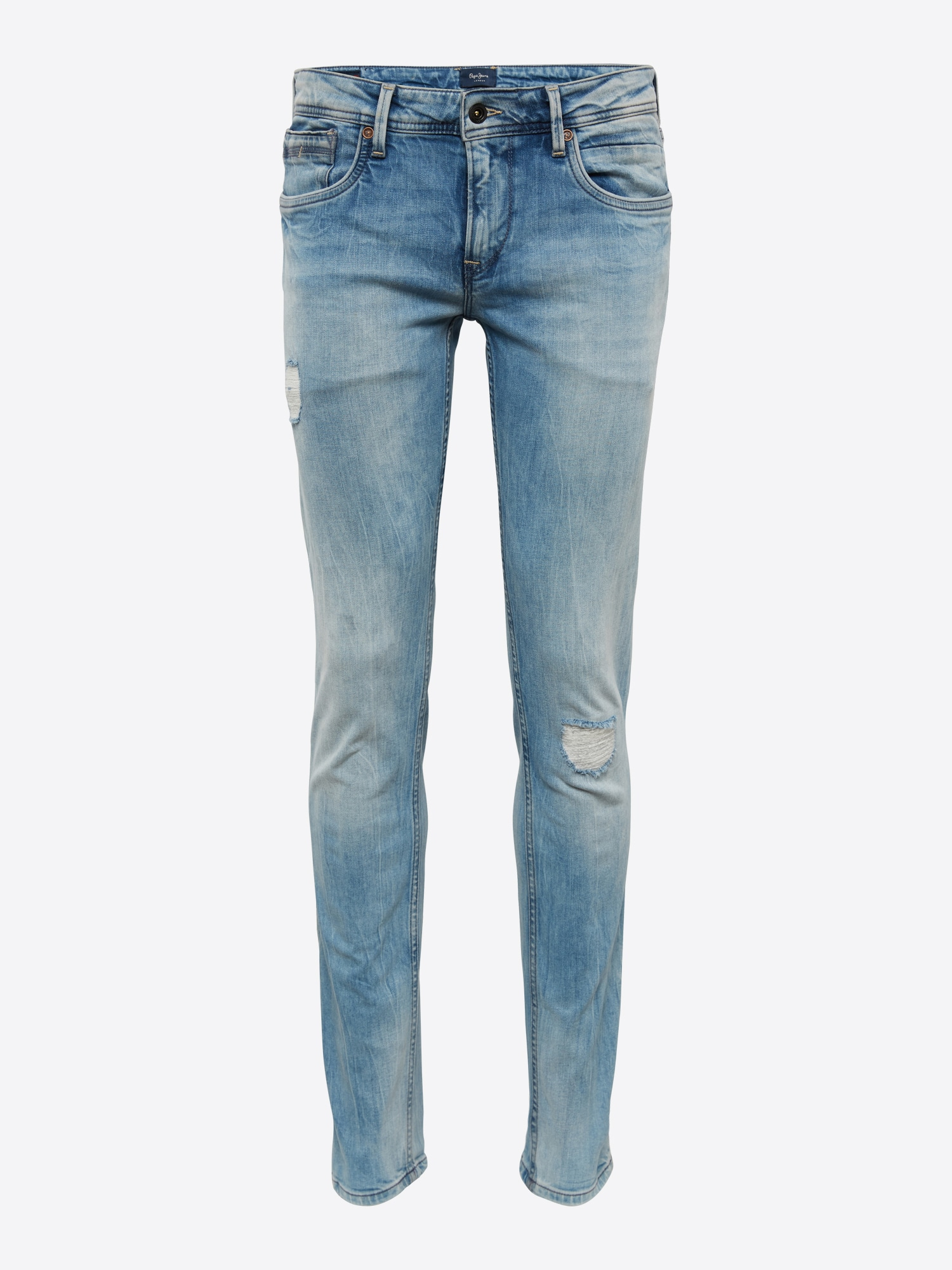 Pepe Jeans, Herren Jeans Hatch Sharp, blauw denim