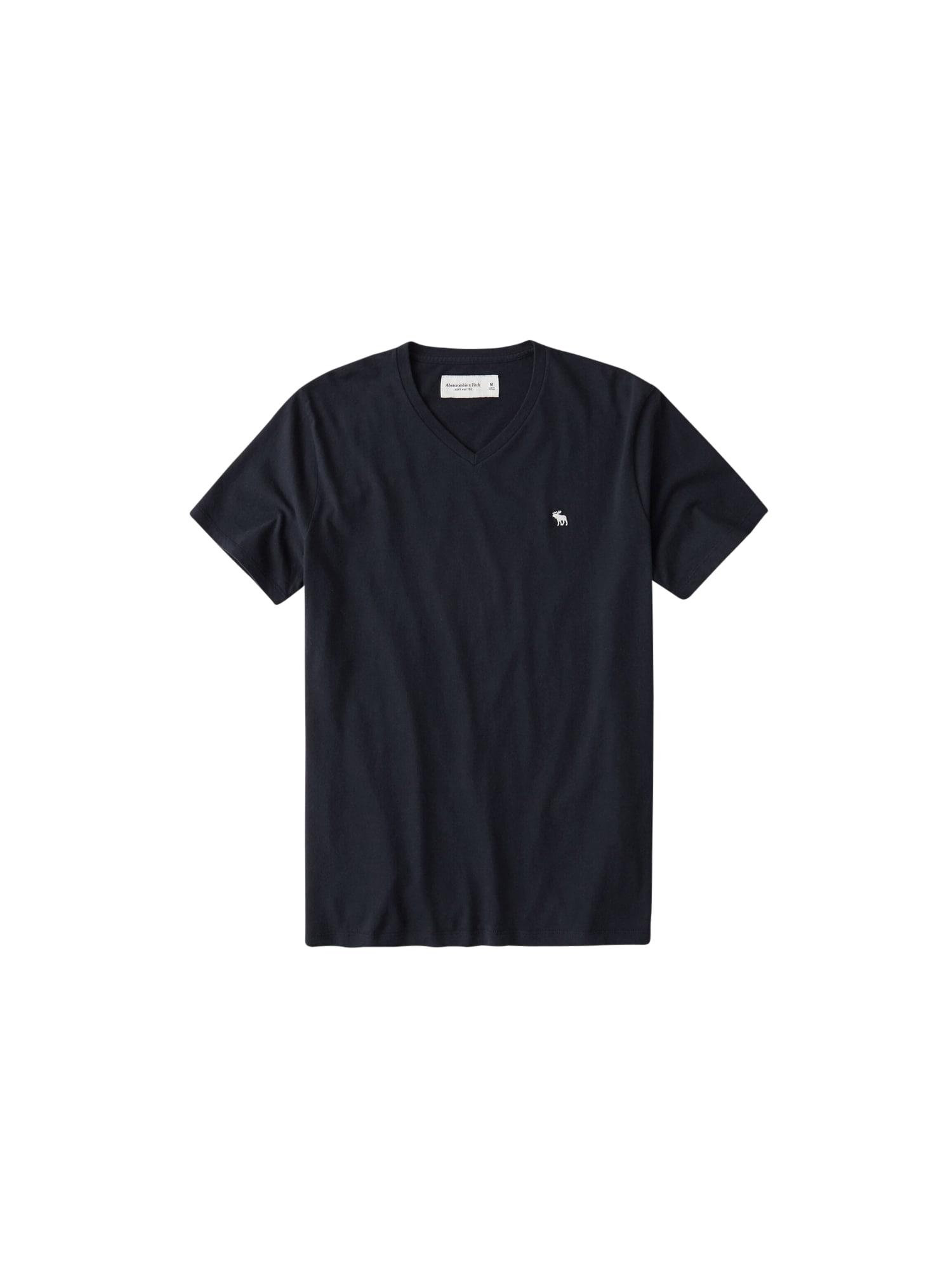 Abercrombie & Fitch Marškinėliai nakties mėlyna