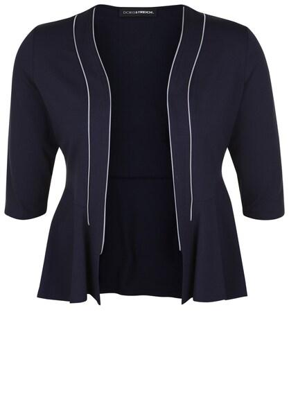 Jacken - Blazer mit Zipper Details › Doris Streich › marine  - Onlineshop ABOUT YOU
