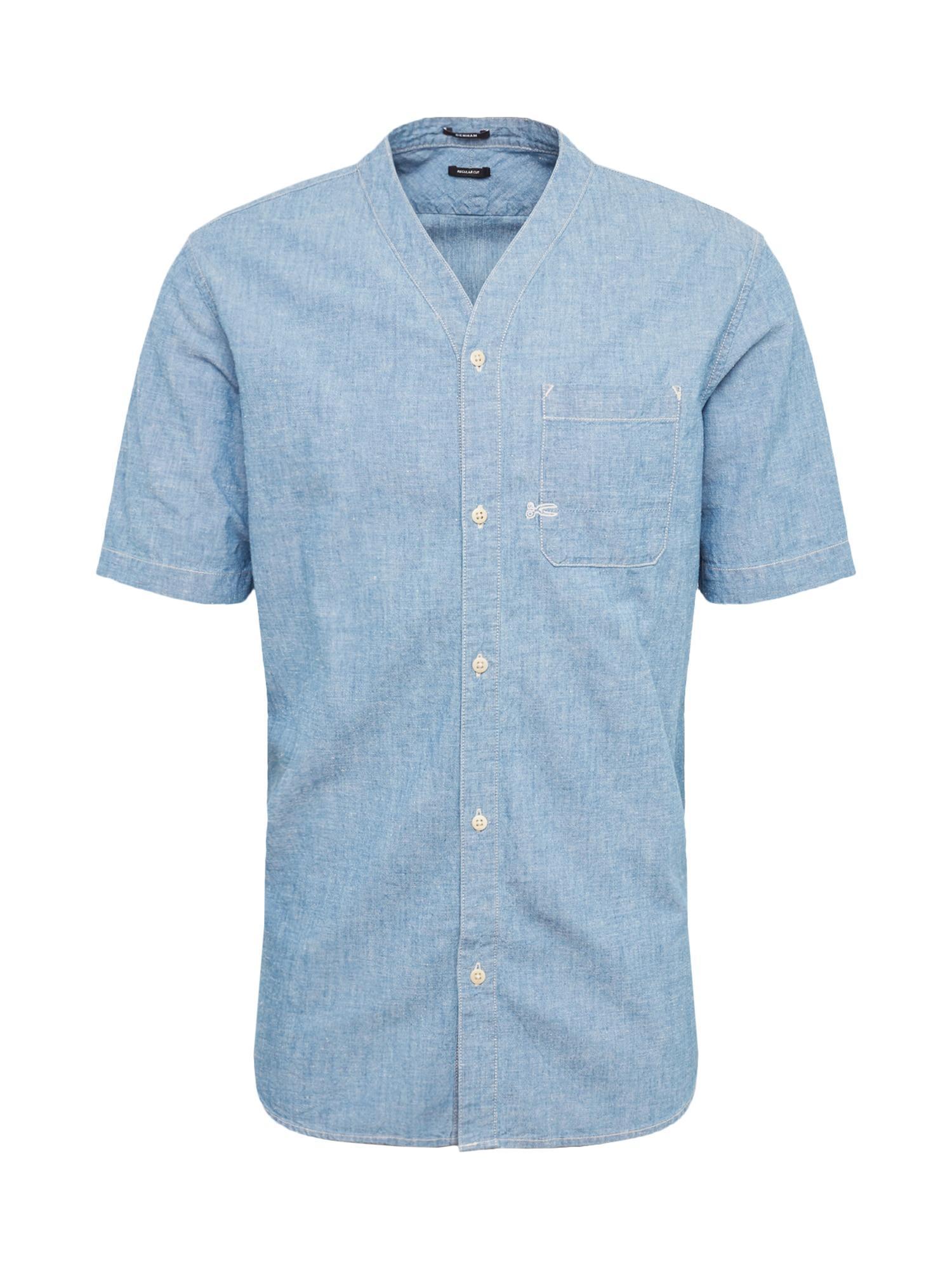 Košile RECON modrá džínovina DENHAM