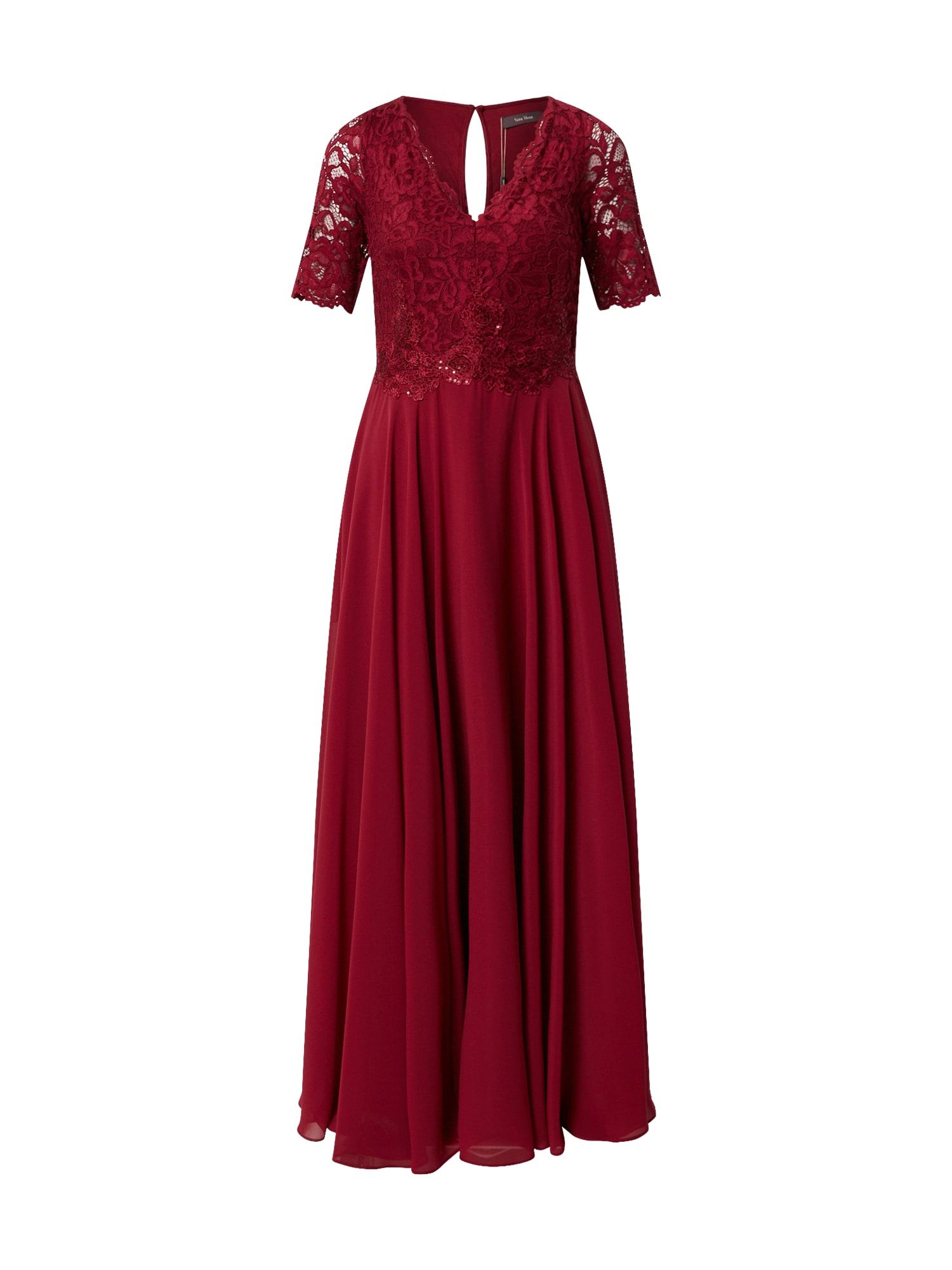 Vera Mont Vakarinė suknelė rubinų raudona