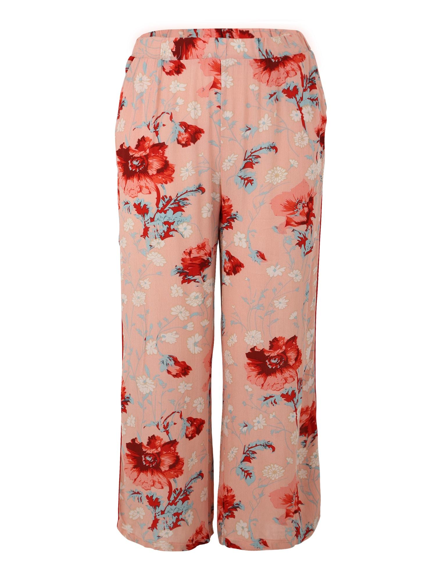 ONLY Carmakoma Kelnės 'Flora Zinnia' mišrios spalvos / rožių spalva