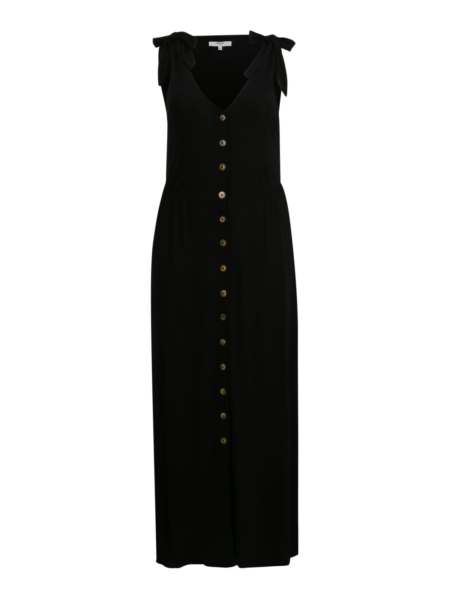 ABOUT YOU Curvy Šaty 'Emma'  čierna