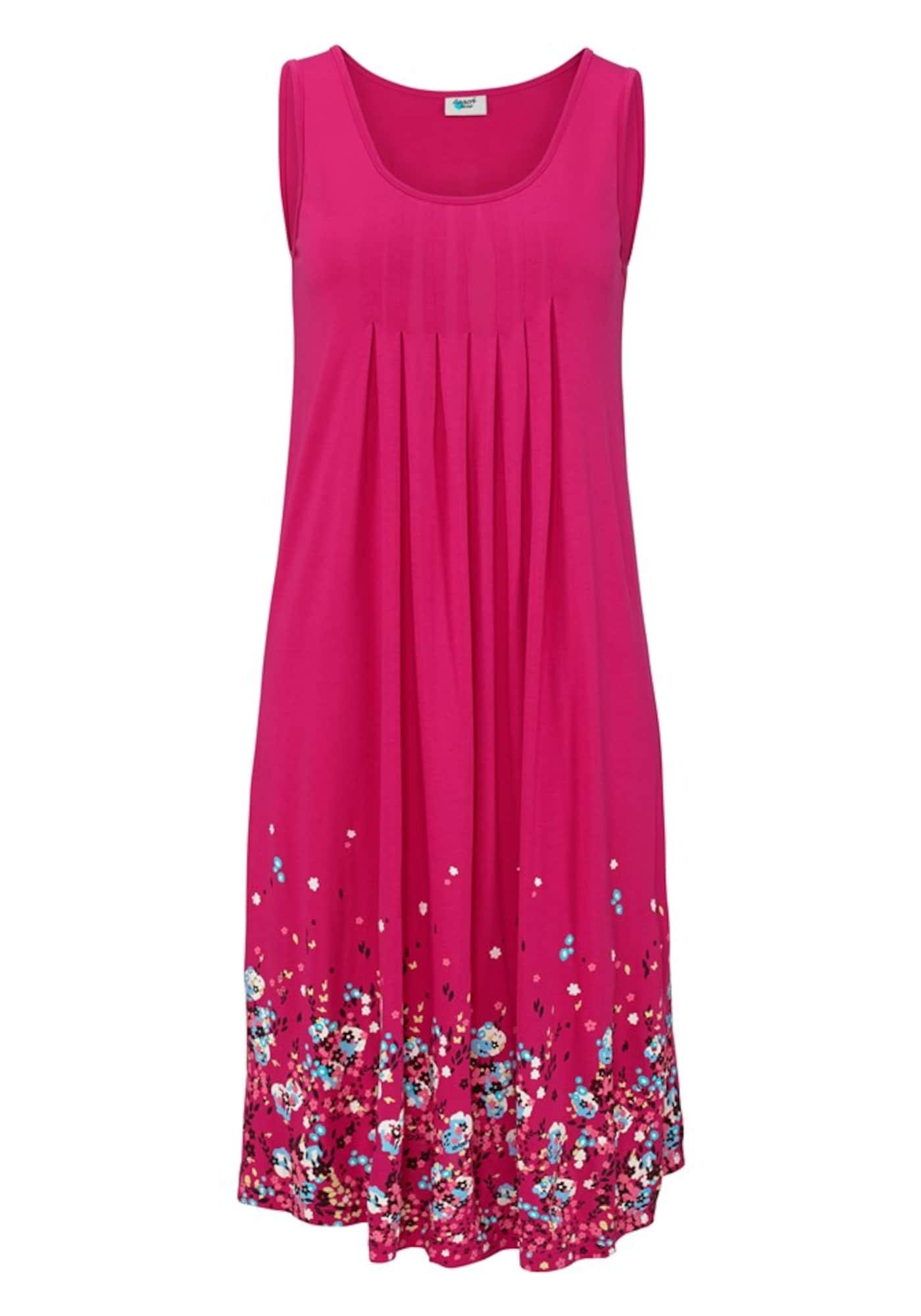 BEACH TIME Vasarinė suknelė mišrios spalvos / rožinė