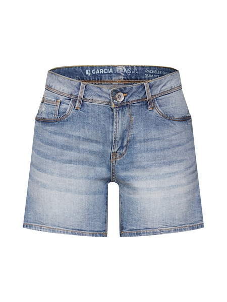 Hosen für Frauen - GARCIA Shorts 'Rachelle' blue denim  - Onlineshop ABOUT YOU