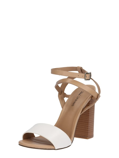 Highheels für Frauen - CALL IT SPRING High Heel Sandalette 'PALEWIA' beige weiß  - Onlineshop ABOUT YOU