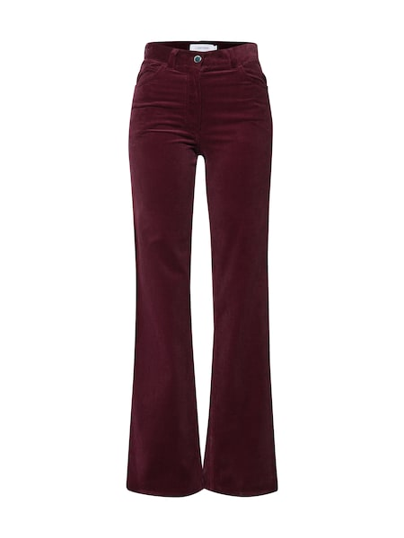 Hosen für Frauen - Calvin Klein Hose 'CORDUROY' dunkelrot  - Onlineshop ABOUT YOU