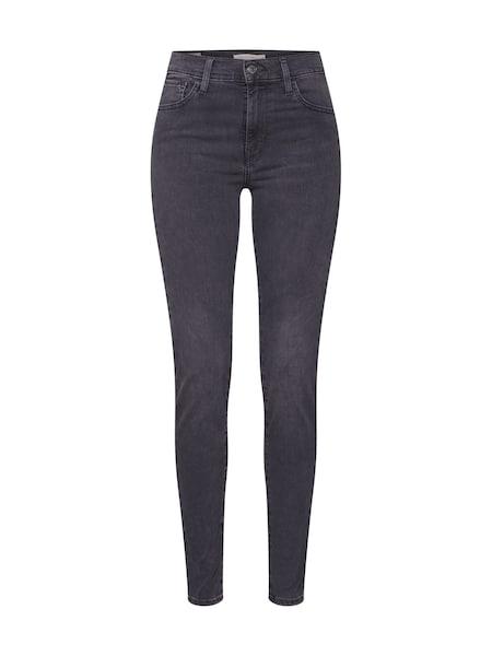 Hosen - Jeans '720™ HIRISE SUPER SKINNY' › Levi's › grey denim  - Onlineshop ABOUT YOU