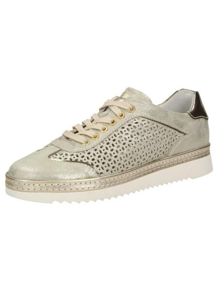 Sneakers für Frauen - SIOUX Sneaker 'Oxiria 702 XL' beige gold  - Onlineshop ABOUT YOU