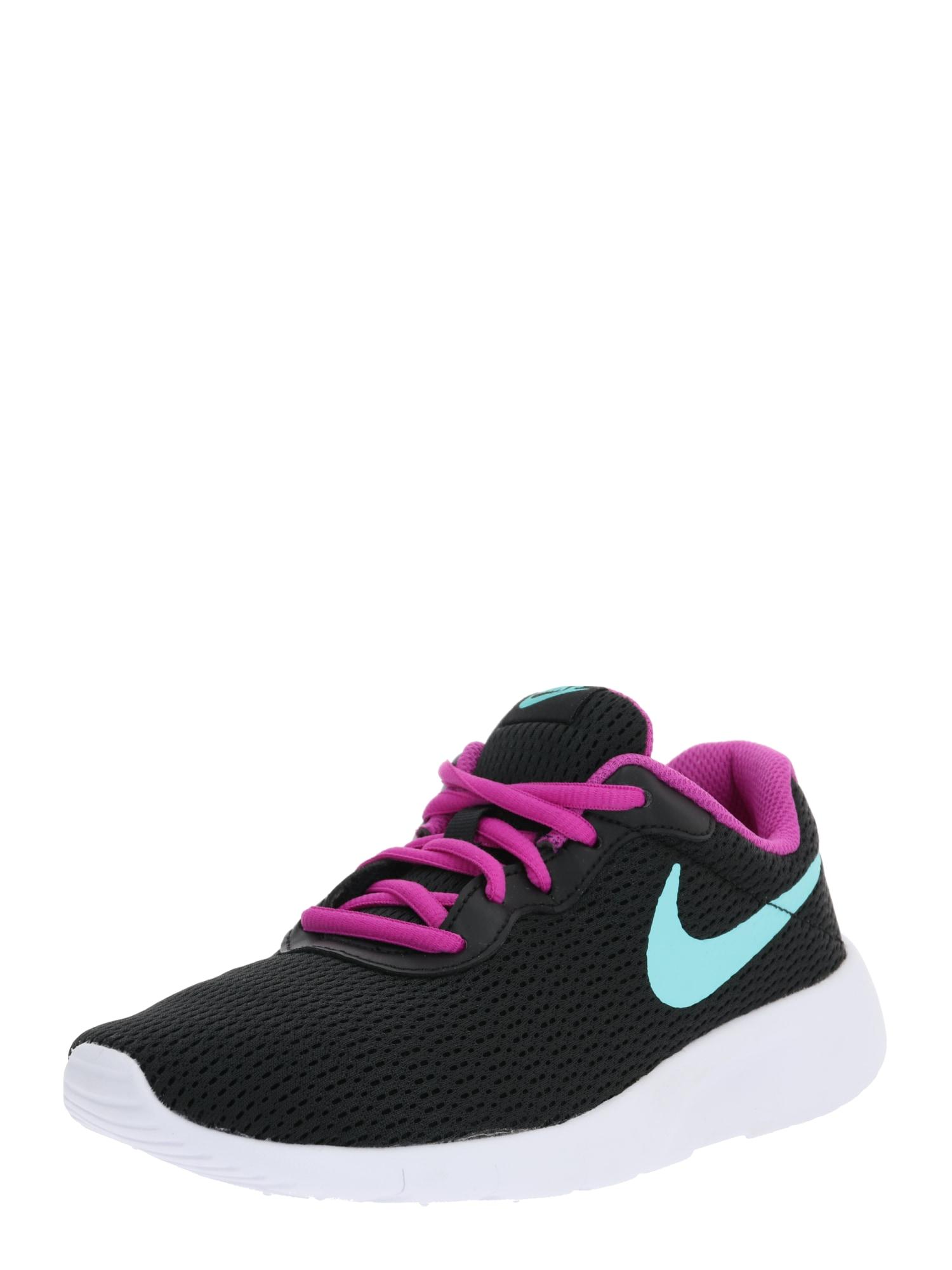 Nike Sportswear Sportbačiai 'Tanjun (GS) U' opalo / purpurinė / juoda