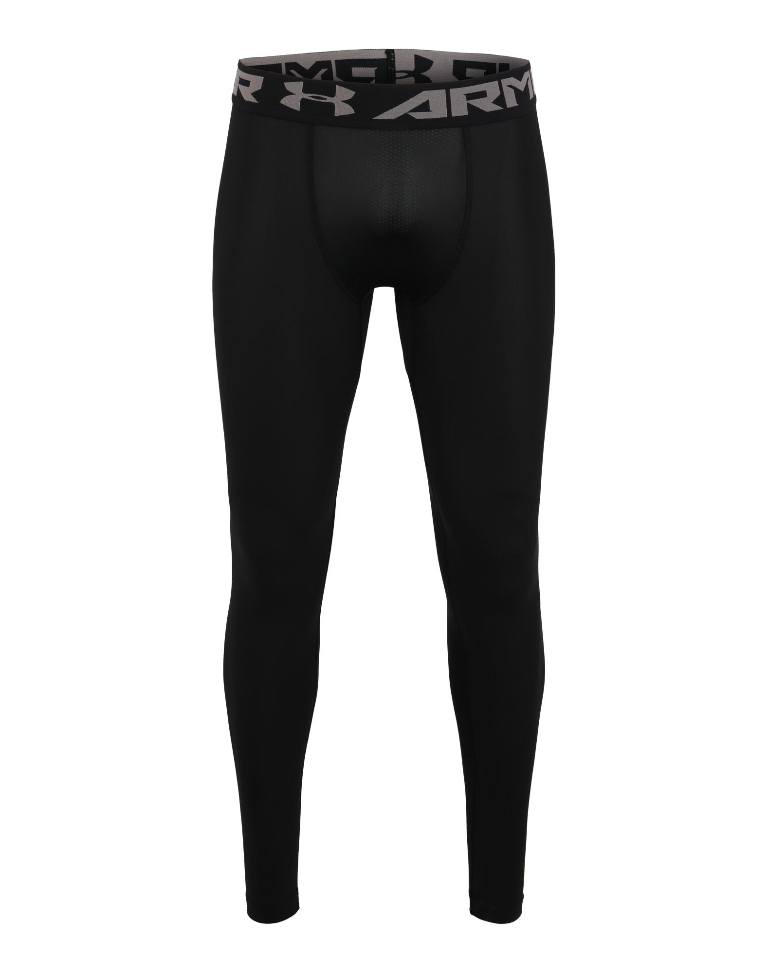 UNDER ARMOUR Sportinės kelnės juoda / grafito