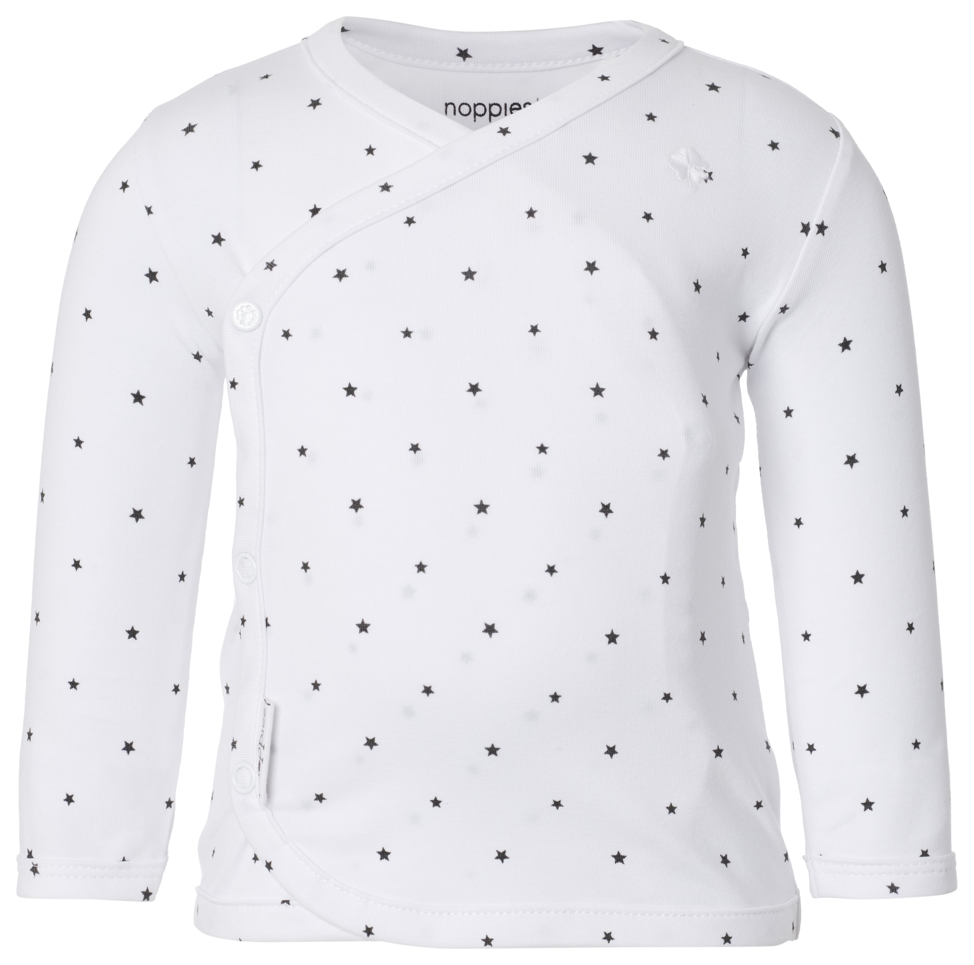 Noppies Marškinėliai 'Anne' juoda / balta
