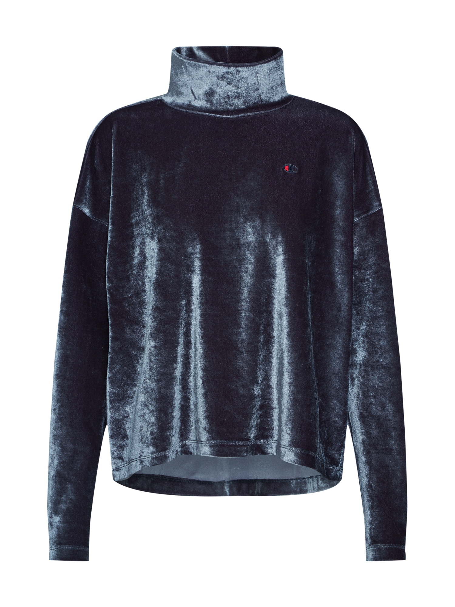 Champion Authentic Athletic Apparel Mikina 'High Neck'  čierna