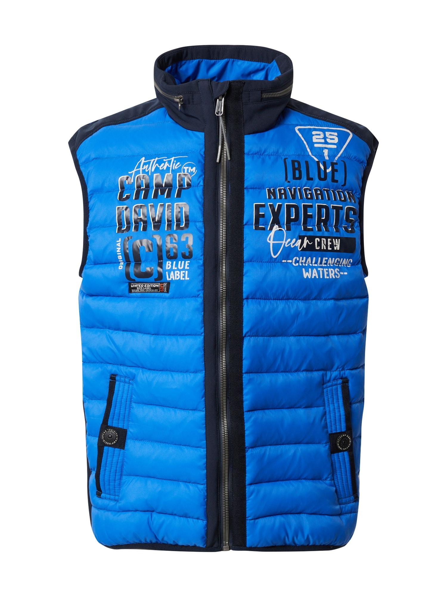 CAMP DAVID Prechodná bunda  modrá