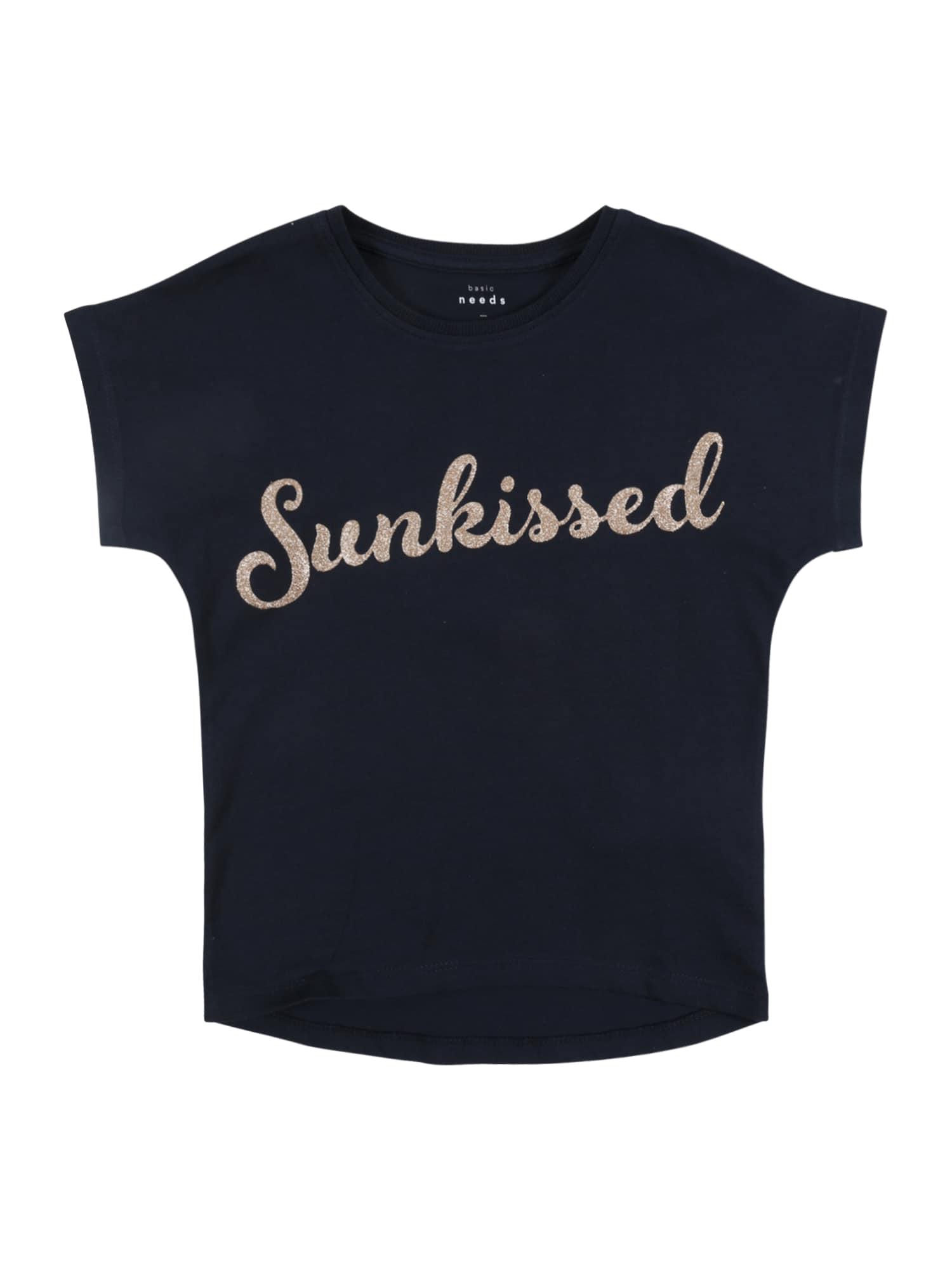 NAME IT Marškinėliai 'NMFVALISSA SS TOP F' tamsiai mėlyna
