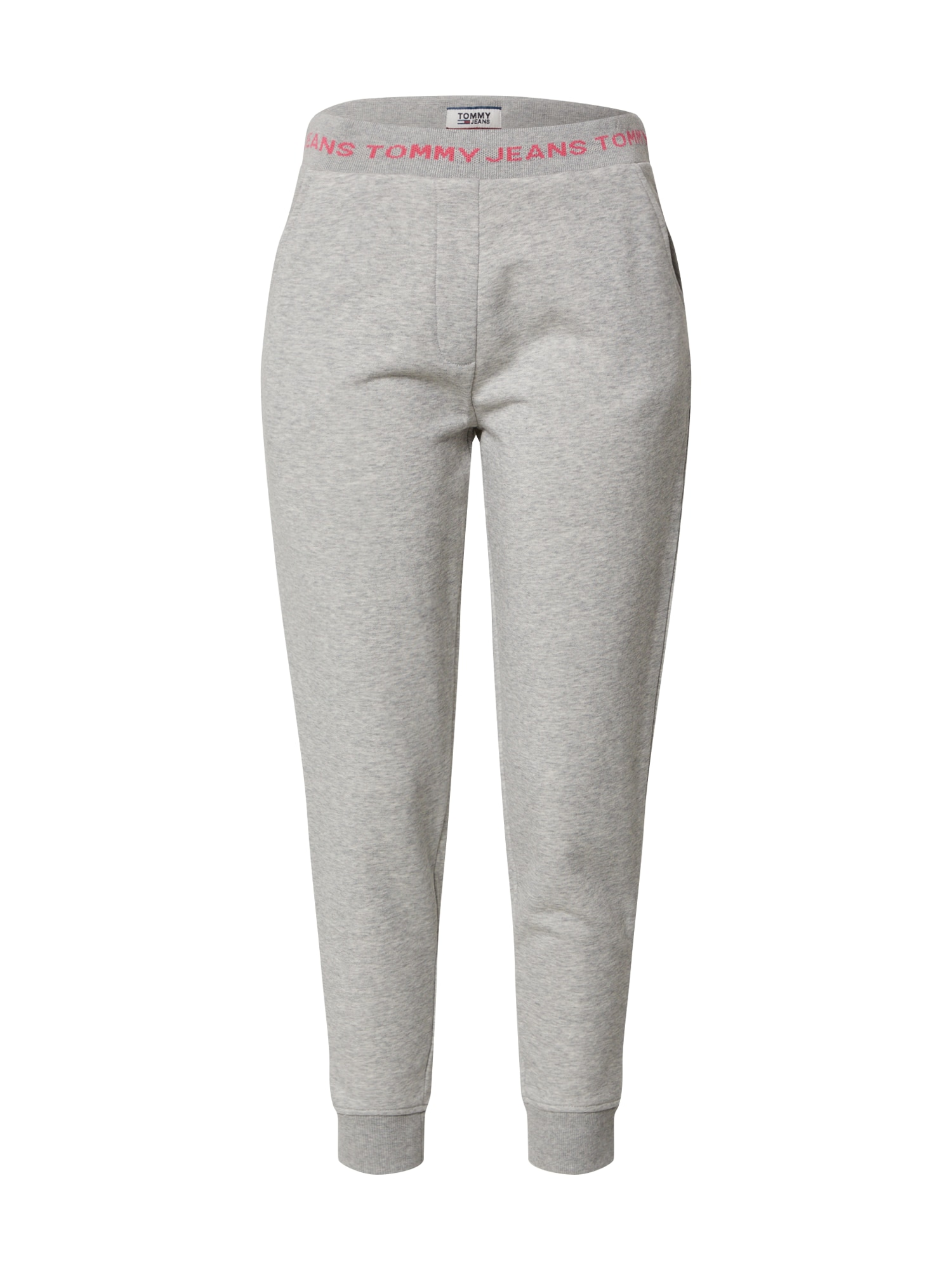 Tommy Jeans Kelnės šviesiai pilka