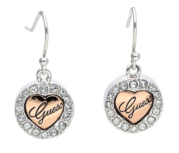 Ohrringe für Frauen - GUESS Ohrhänger 'UBE21106' rosegold silber  - Onlineshop ABOUT YOU