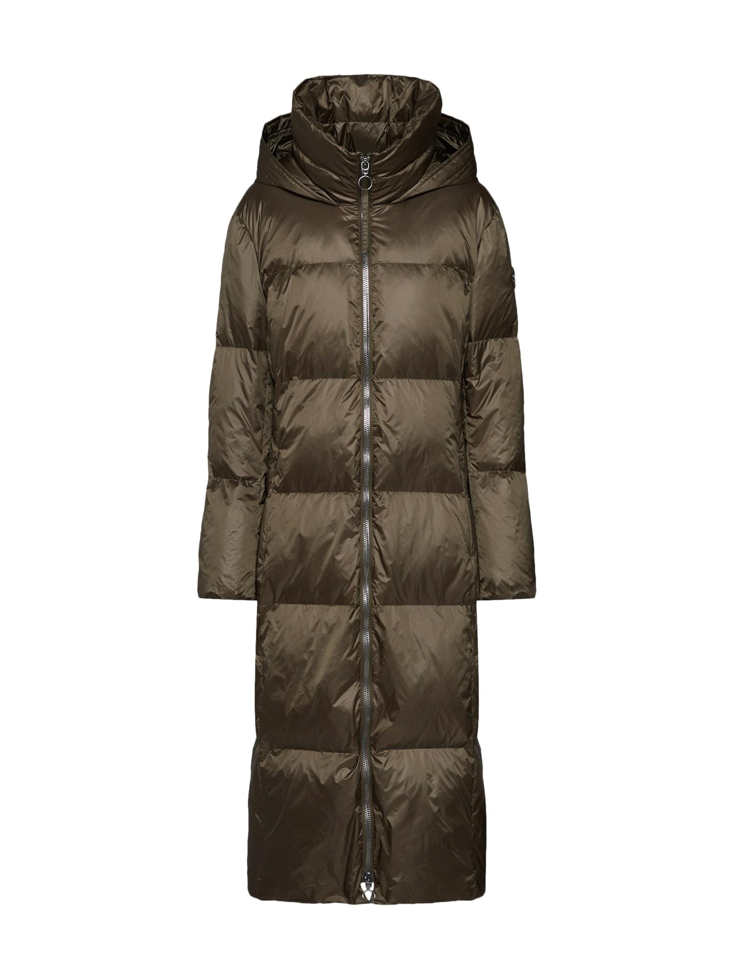 Zimní kabát 92017 khaki LAUREL
