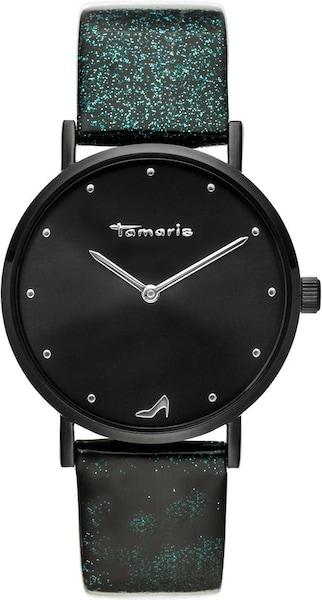 Uhren für Frauen - Uhr 'Bruna, TW07' › tamaris › smaragd schwarz  - Onlineshop ABOUT YOU