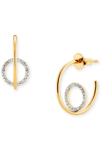 Ohrringe für Frauen - Caï Creolen 'C1859E 90 93' gold silber  - Onlineshop ABOUT YOU