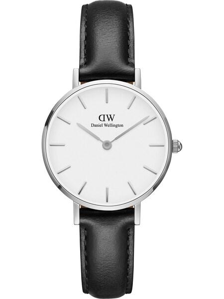Uhren für Frauen - Daniel Wellington Uhr 'Sheffield DW00100242' schwarz silber weiß  - Onlineshop ABOUT YOU