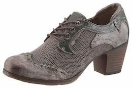 MUSTANG Damen Shoes Schnürpumps braun,grün,olive   04053974860794