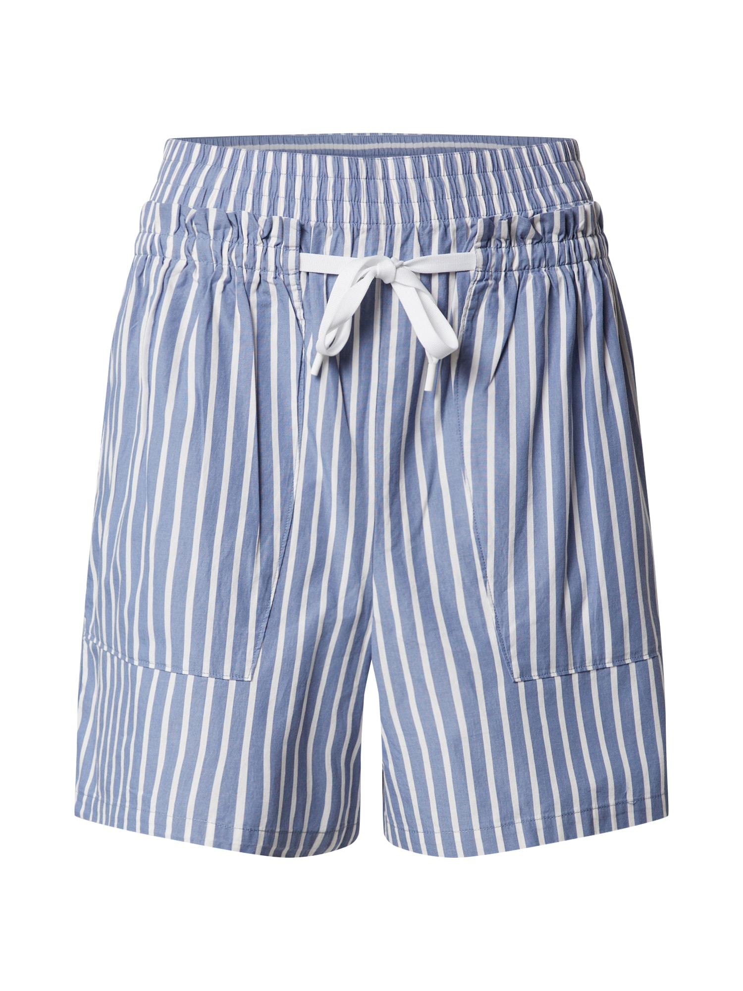 Marc O'Polo DENIM Kelnės balta / mėlyna