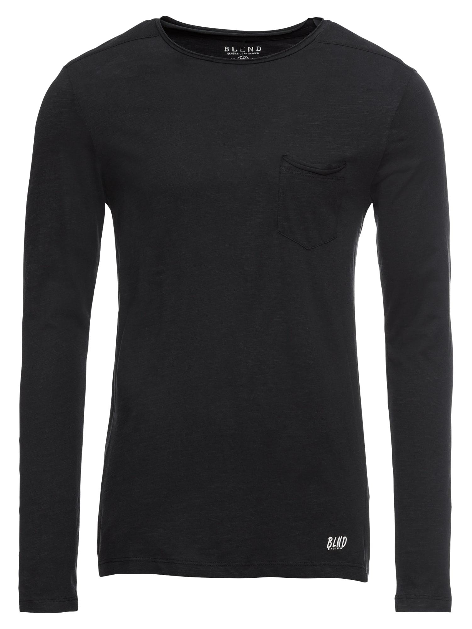 BLEND Marškinėliai juoda