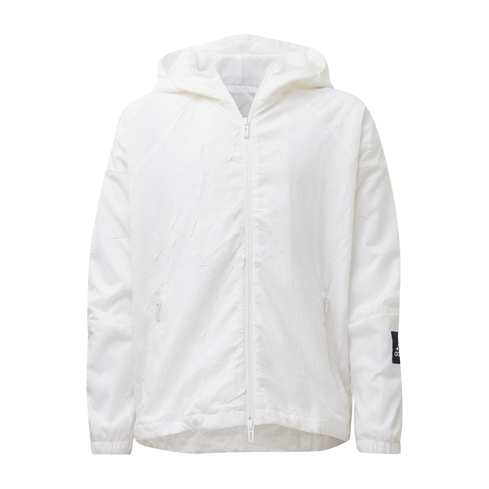 ADIDAS PERFORMANCE Športová bunda 'W.N.D. Primeblue'  biela / čierna