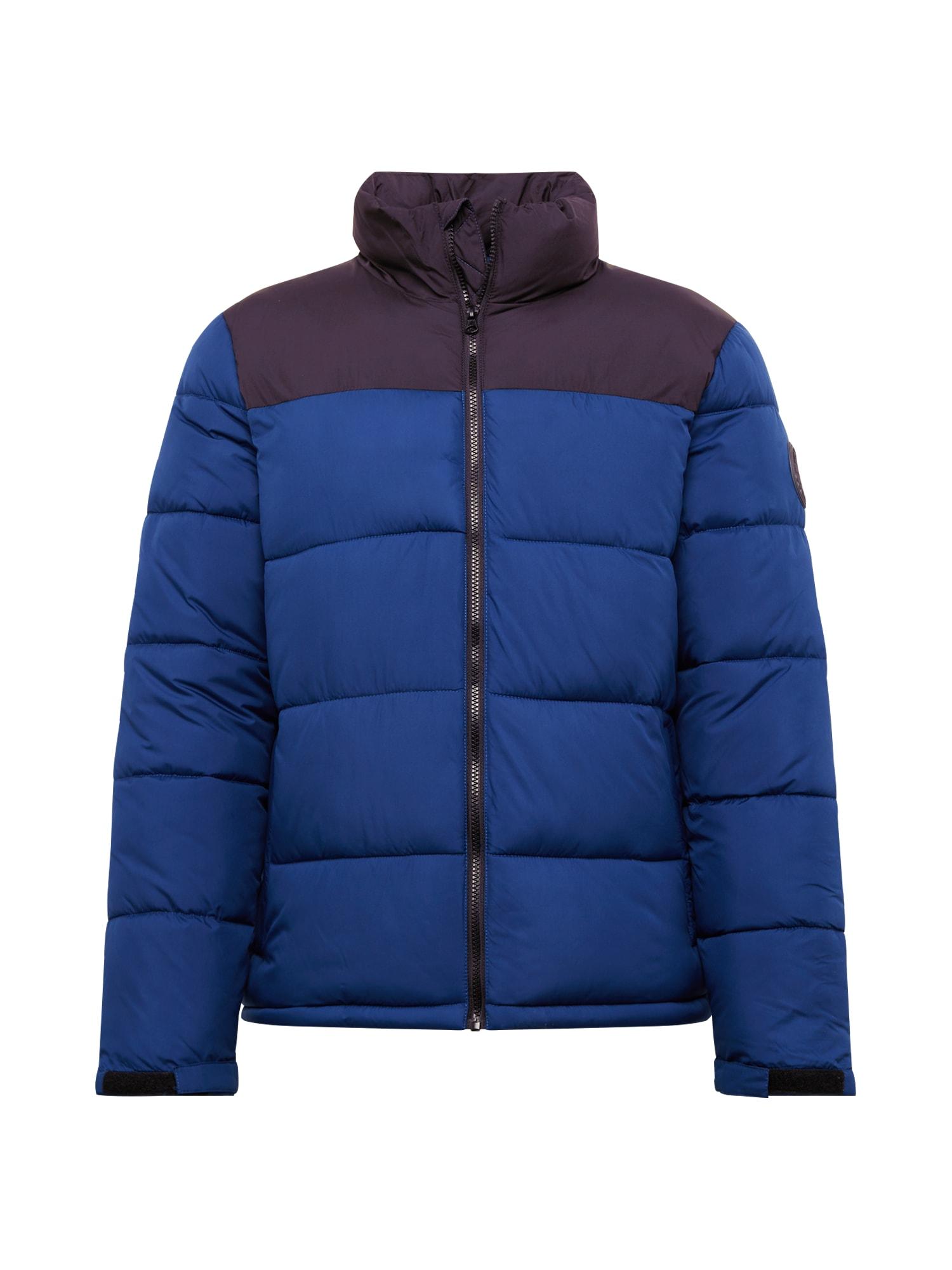 BURTON MENSWEAR LONDON Žieminė striukė mėlyna
