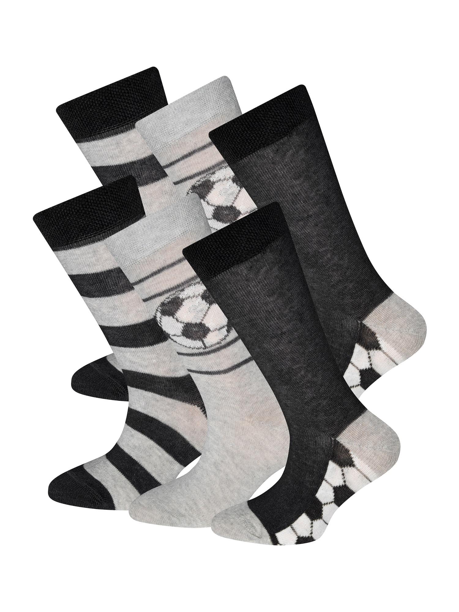 EWERS Kojinės juoda / pilka