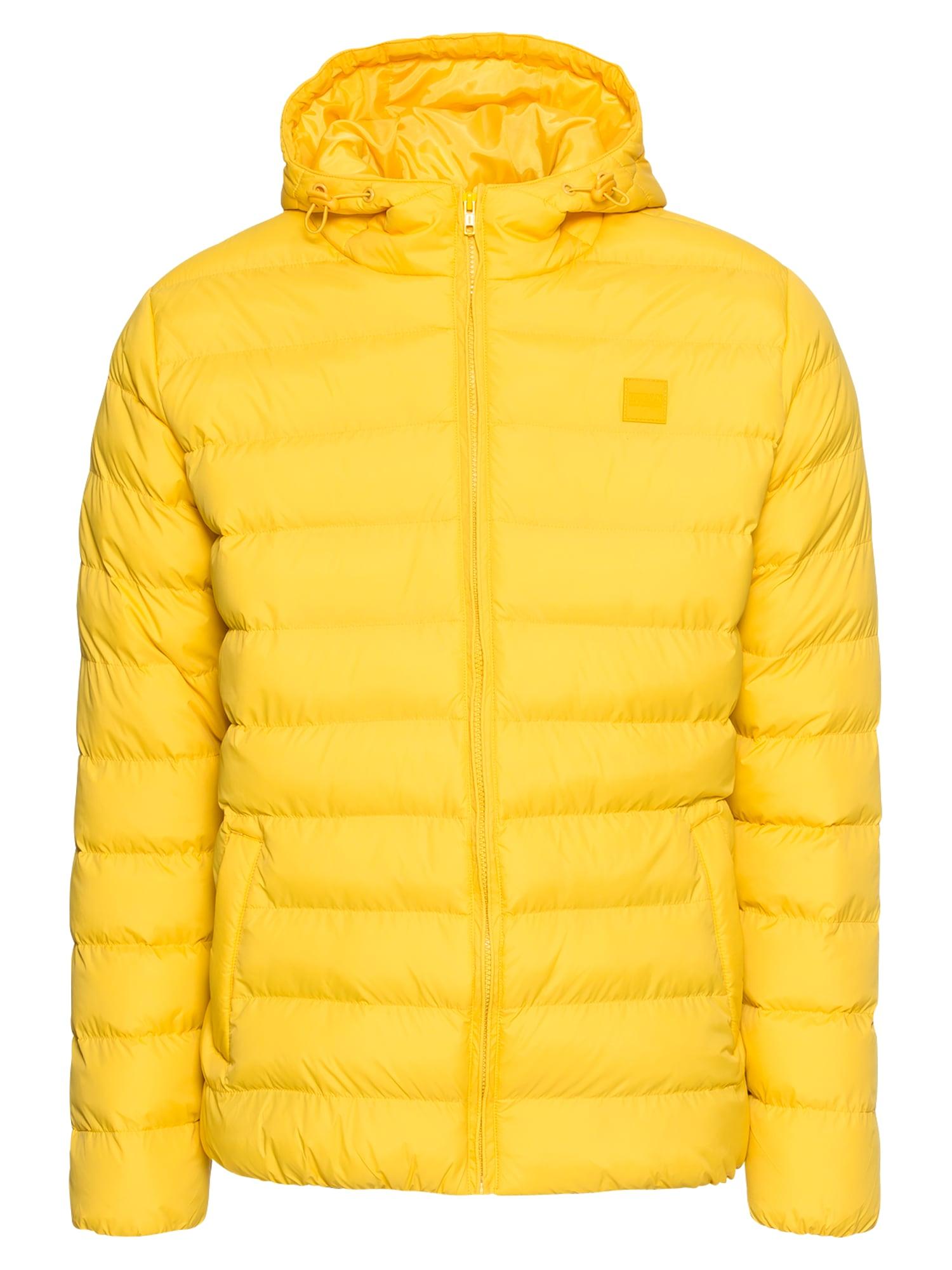 Urban Classics Žieminė striukė geltona