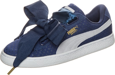 PUMA 'Basket Heart Denim' Sneaker Damen