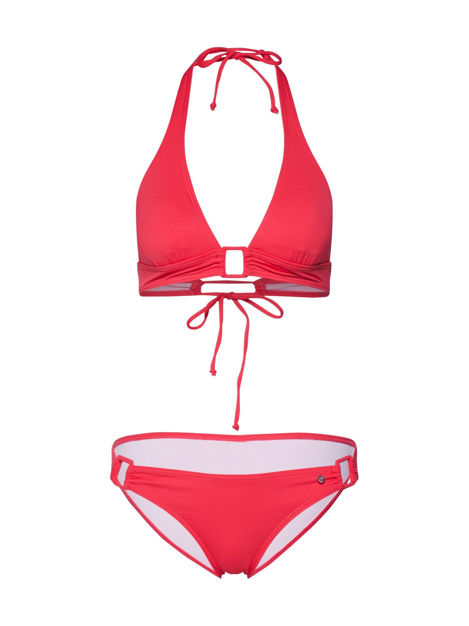 s.Oliver Bikinis šviesiai raudona