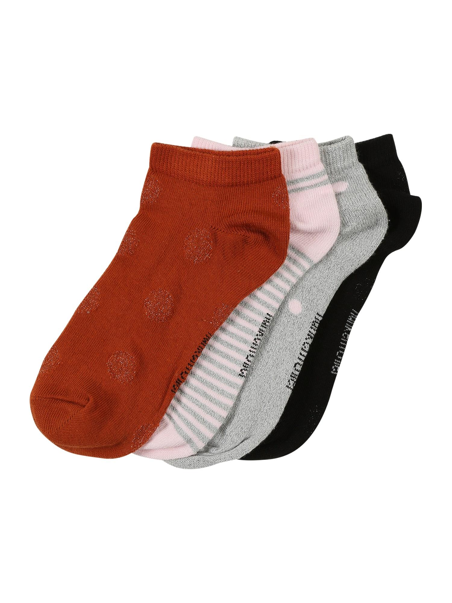 Ponožky 4P Trainerliner Dot lurex mix barev Hunkemöller